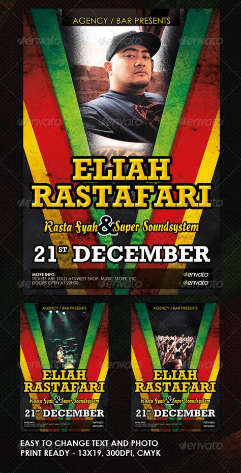 Free Jamaican Flyer Templates