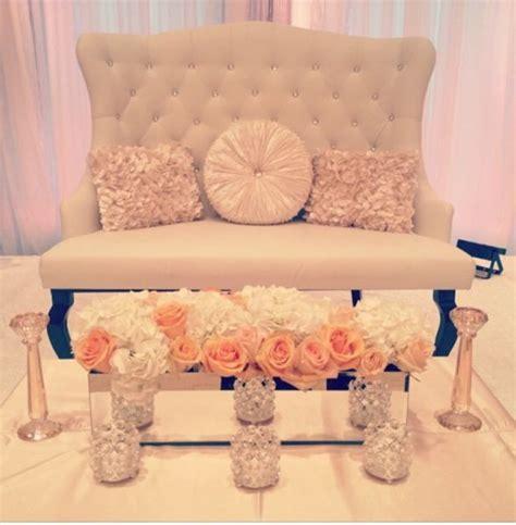 wedding loveseat rental pin by h k on valima stage decor ideas pinterest