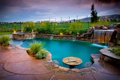 backyard oasis pools create a serene backyard oasis alan jackson pools
