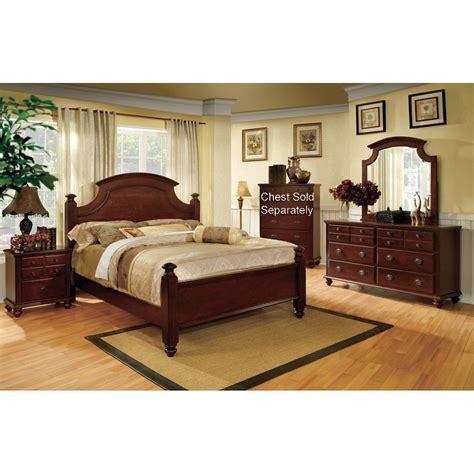 Cherry Bedroom Set by Gabrielle Cherry 6 King Bedroom Set