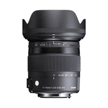 Lensa Sigma 17 50mm For Nikon jual lensa kamera filter lensa aksesoris harga murah blibli