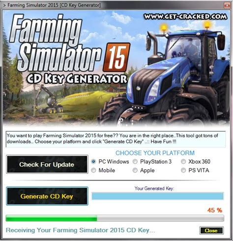 Free Ps3 Giveaway 2015 - farming simulator 2015 cd key generator get cracked