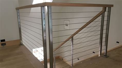 Interior Railing Systems by Interior Cable Railing Systems Custom Made To Order In Nj By Newman S