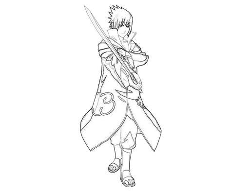 naruto coloring pages sasuke naruto sasori action how coloring