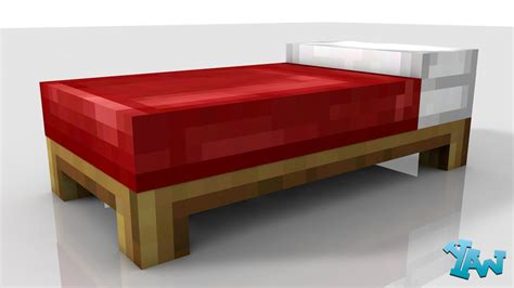 Minecraft Bed by Creating A Minecraft Bed In C4d With Coming Soon