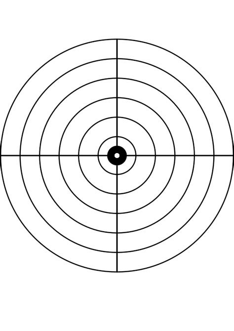 bullseye template printable bullseye cliparts co