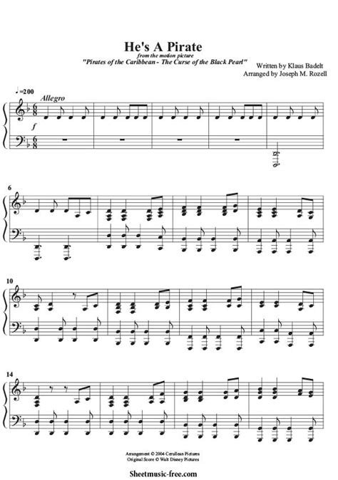 tutorial piano pirates of the caribbean he s a pirate piano sheet music pirates of the caribbean