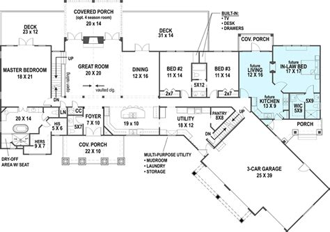 Cottage House Plan With 3 Bedrooms And 2 5 Baths Plan 1443 Dfd House Plans
