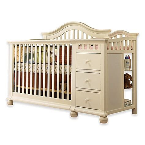 sorelle berkley 4 in 1 crib and changer sorelle cape cod 4 in 1 crib and changer in white