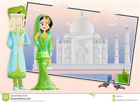 Muslim Wedding Clipart by Muslim Wedding Stock Vector Illustration Of
