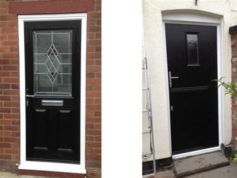 black upvc front doors new front pic eiger doors