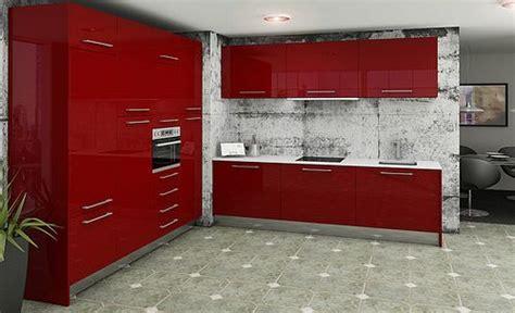 imagenes de cocinas integrales rojas cocinas modernas rojas