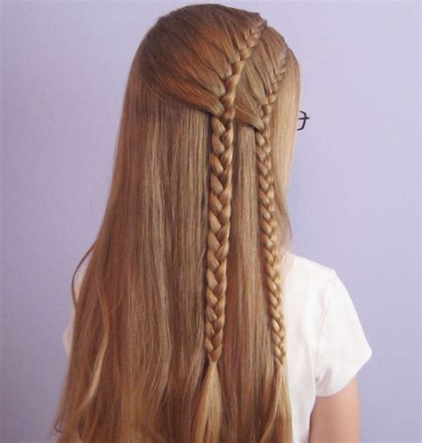 chrissy lkin 2 french braids styles two french braid hairstyles for women