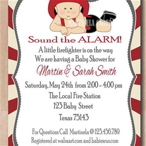 Fireman Baby Shower Invitation Fireman From Martinela Cartoons Firefighter Invitation Templates