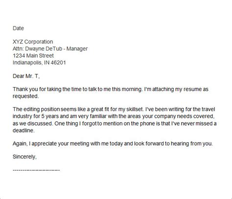 follow up phone interview email luxury sample thank you email after
