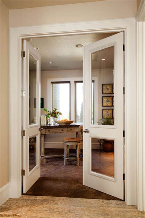 home office doors with glass portland street of dreams traditional home office