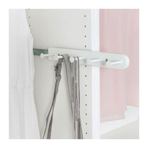 ikea wardrobe hanger komplement pull out multi use hanger white 35 cm ikea