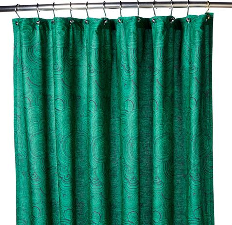 houzz shower curtains hutton wilkinson malachite print shower curtain