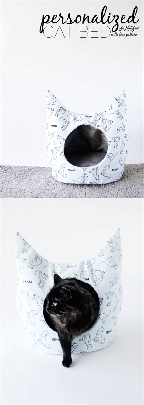 sewing pattern cat bed free cat bed sewing pattern see kate sew