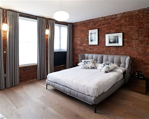 brick wallpaper bedroom 50 delightful and cozy bedrooms with brick walls