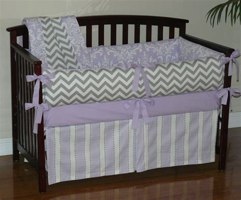 grey chevron bedding purple and gray chevron bedding