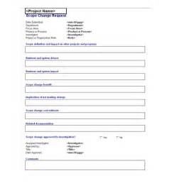 change template change request form template images