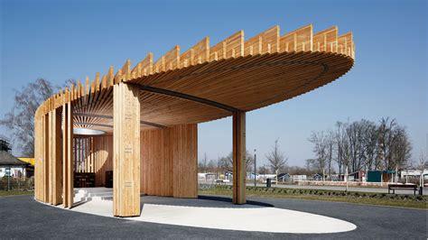 pavillon kaiserslautern kirchenpavillon lgs 2015 in landau ochs holzbau