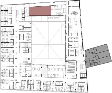 que es plan layout gallery of subacute hospital of mollet mario corea