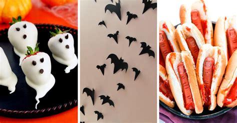 decoraciones de halloween 17 sencillas ideas para decorar tu casa en halloween