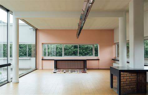 French Modern Interior Design Villa Savoye Cereal
