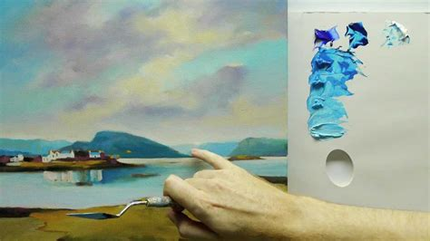 acrylic painting how to do it how to paint landscapes colour mixing acrylics using