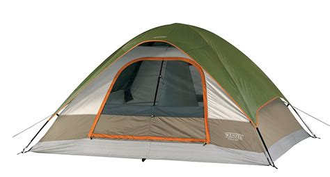 outdoor cing green red travel 5 person tent hiking 2
