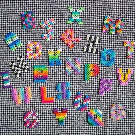 hama bead letter templates colorful alphabet hama by myhouseofbricks