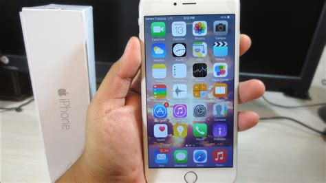 iphone 6 plus 32 gb unboxing silver