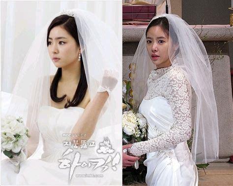 film drama korea wedding dress chanmi s take sin se kyeong and hwang jeong eum wearing