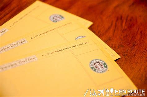 Gift Certificate Giveaway - en route starbucks gift certificate giveaway september 2012 0630 en route