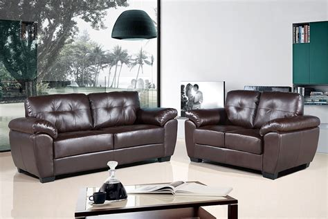 Leather Sofas Brisbane Brisbane 2 Seater Sofa Brown Rosebay