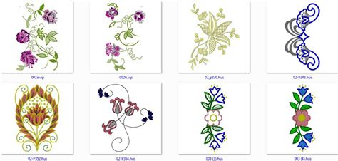 free floral embroidery designs free flowers embroidery