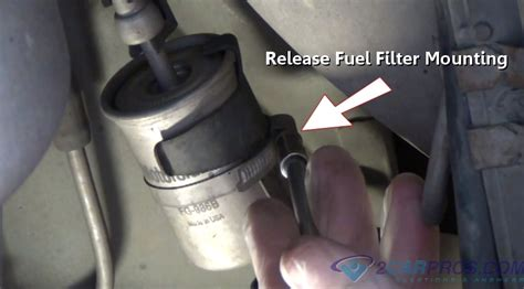 replace  fuel filter    minutes