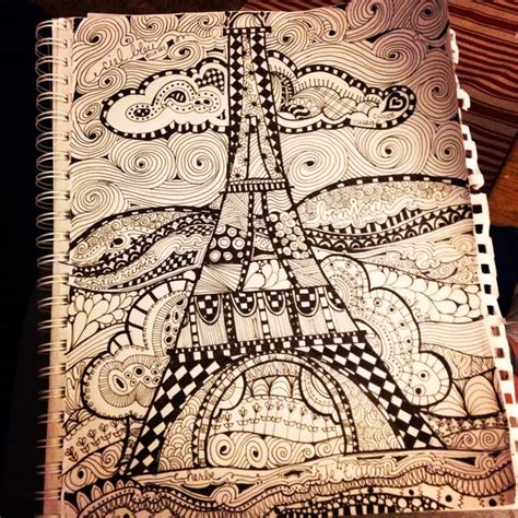 doodle tower eiffel tower doodle by susan roberson eiffel tower