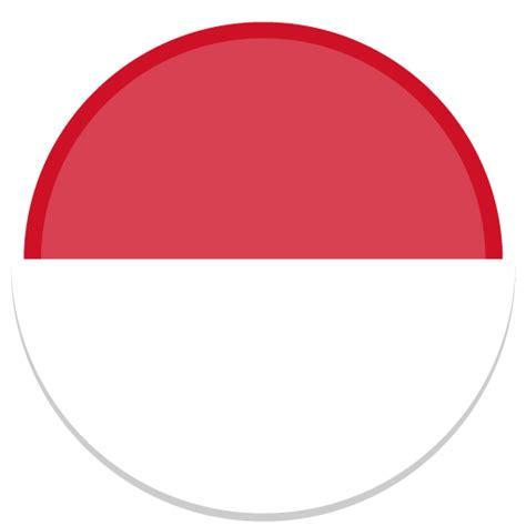 Icon Design Indonesia | indonesia icon round world flags iconset custom icon