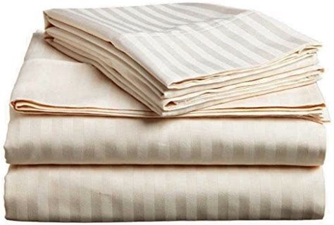 top quality sheets mezzati luxury striped bed sheets set sale best