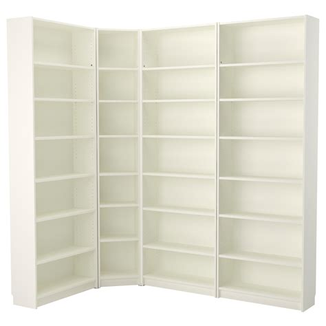 bookshelf astounding corner bookcase white amazing