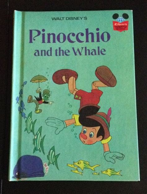 pinocchio picture book walt disneys pinocchio and the whale 1977 hardcover book