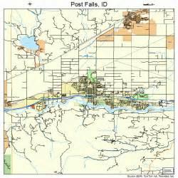 post falls idaho map 1664810