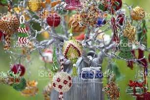 south african christmas decorations stock photo 185325163