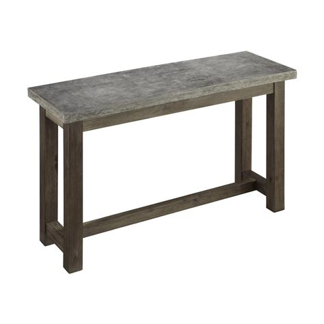 console or sofa tables home styles 5133 22 concrete chic console table atg stores