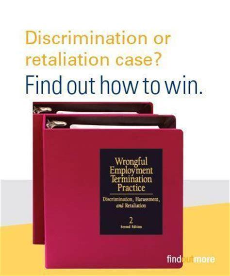 Demand Letter Retaliation Wrongful Employment Termination Practice Discrimination