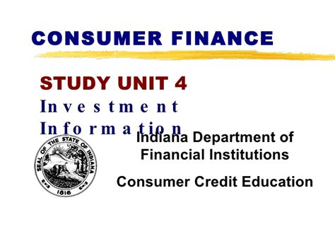 Office Of Consumer Credit Commissioner by Consumer Finance