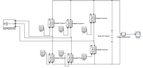rectifier circuit using thyristor simulation igbt vs scr rectifier electrical engineering stack exchange